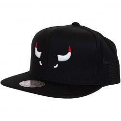 Mitchell & Ness Snapback Cap  Elements Chicago Bulls schwarz