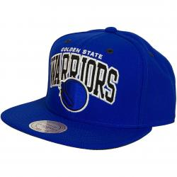 Mitchell & Ness Snapback Cap Golden State Warrior royal