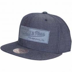 Mitchell & Ness Snapback Cap Italian Washed Own Brand dunkelblau