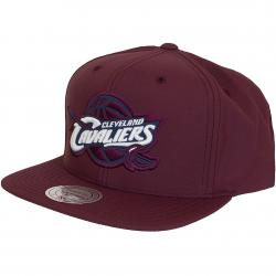 Mitchell & Ness Snapback Cap Milo Cleveland Cavaliers weinrot