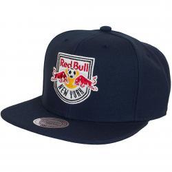 Mitchell & Ness Snapback Cap N.Y. Red Bulls dunkelblau