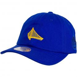 Mitchell & Ness Snapback Cap NBA Elements Golden State Warriors royal