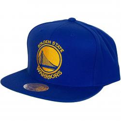 Mitchell & Ness Snapback Cap Golden State Warriors royal