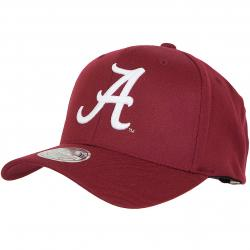 Mitchell & Ness Snapback Cap NCAA Alabama weinrot/weiß