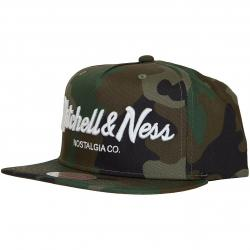 Mitchell & Ness Snapback Cap Pinscript Own Brand camouflage