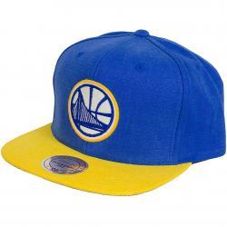 Mitchell & Ness Snapback Cap Sandy Golden State Warriors royal/gelb