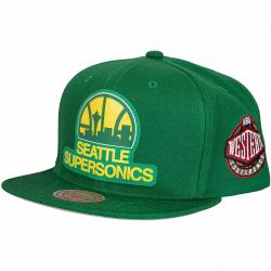 Mitchell & Ness Silicon Grass HWC Seattle Supersonics green