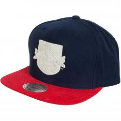 Mitchell & Ness Snapback Cap State NY Red Bulls rot/dunkelblau