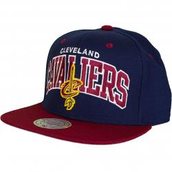 Mitchell & Ness Snapback Cap Team Arch Cleveland Cavaliers navy/burgundy