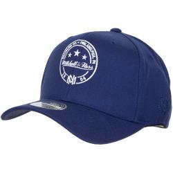 Mitchell & Ness Snapback Cap The Navy Visor Sticker Own Brand dunkelblau/weiß