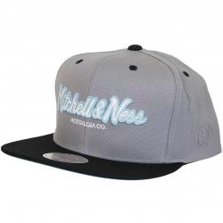 Mitchell & Ness Snapback Cap The Weekend 2 Pinscrict grau/schwarz