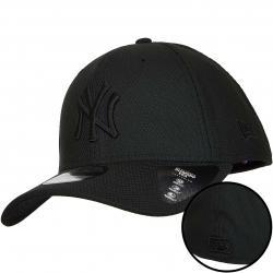 New Er 39Thirty Flexfit Cap MLB Diamond NY Yankees schwarz