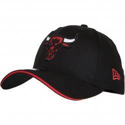 New Era 39Thirty Flexfit Cap Team Chicago Bulls rot/schwarz