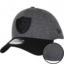 New Era 39Thirty Flexfit Cap Essential Jersey Oakland Raiders schwarz/schwarz