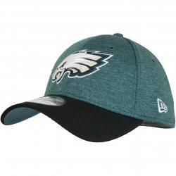 New Era 39Thirty Flexfit Cap OnField Home Philadelphia Eagles grün/schwarz