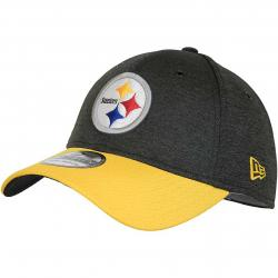 New Era 39Thirty Flexfit Cap OnField Home Pittsburgh Steelers schwarz/gelb
