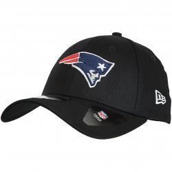 New Era 39Thirty Fitted Cap NFL New England Patriots schwarz