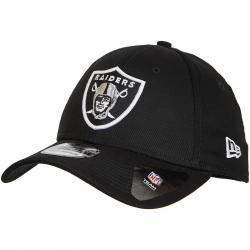 New Era 39Thirty Fitted Cap NFL Oakland Raiders schwarz