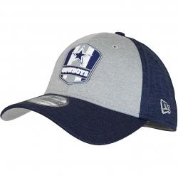 New Era 39Thirty Flexfit Cap OnField Road Dallas Cowboys dunkelblau/grau