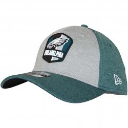 New Era 39Thirty Flexfit Cap Road Philadelphia Eagles grün/grau