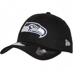New Era 39Thirty Fitted NFL Seattle Seahawks schwarz