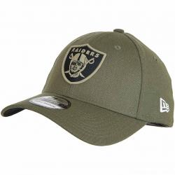 New Era 39Thirty Fitted Cap OnField 18 STS Oakland Raiders oliv