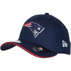 New Era 39Thirty Flexfit Cap Team New England Patriots dunkelblau