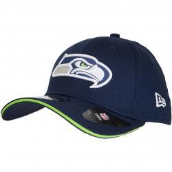New Era 39Thirty Flexfit Cap Team Seattle Seahawks dunkelblau