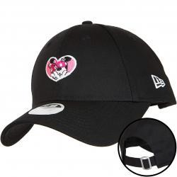 Minnie Maus Damen New Era 940 Disney Schwarz Baseball Kappe