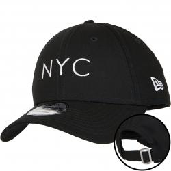 New Era 9Forty Snapback Cap Essential schwarz/weiß