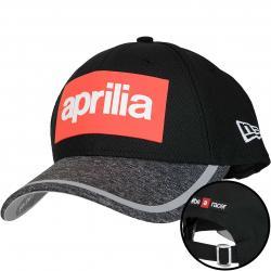 New Era 9Forty Snapback Cap Marl Reflect Aprilia schwarz