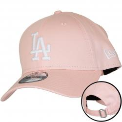 New Era 9Forty Snapback Cap MLB League Essential L.A.Dodgers pink/weiß