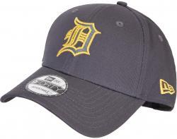 New Era MLB Detroit Tigers Metallic Logo 9forty Cap grau