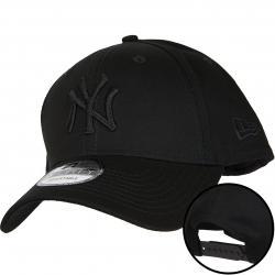 New Era 9Forty Snapback Cap NY Yankees schwarz/schwarz