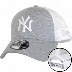 New Era 9Forty Trucker Cap MLB Summer League NY Yankees grau/weiß