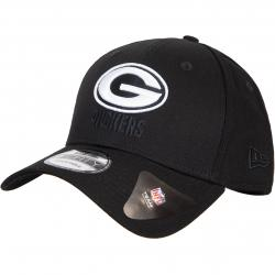 New Era NFL Green Bay Packers Black Base 9forty Cap