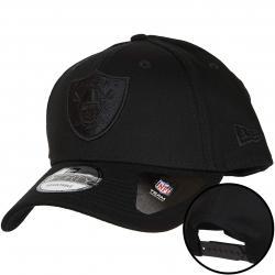 New Era 9Forty Snapback Cap Oakland Raiders schwarz/schwarz