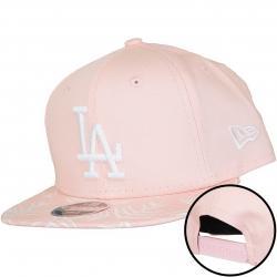 New Era 9Fifty Snapback Kinder Cap MLB Palm Print L.A. Dodgers pink