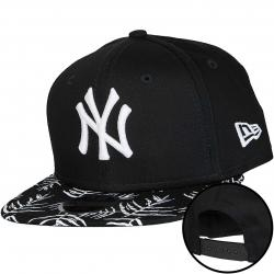 New Era 9Fifty Kinder Snapback Cap Palm NY Yankees schwarz