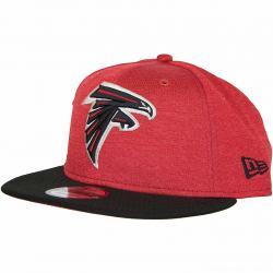 New Era 9Fifty Snapback Cap OnField Home Atlanta Falcons rot/schwarz