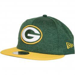 New Era 9Fifty Snapback Cap OnField Home Greenbay Packers grün/gelb
