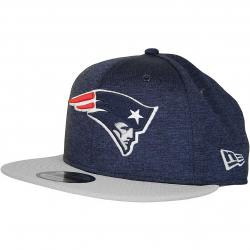 New Era 9Fifty Snapback Cap OnField Home New England Patriots dunkelblau/grau