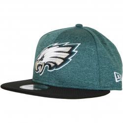 New Era 9Fifty Snapback Cap OnField Home Philadelphia Eagles grün/schwarz