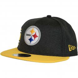 New Era 9Fifty Snapback Cap OnField Home Pittsburgh Steelers schwarz/gelb