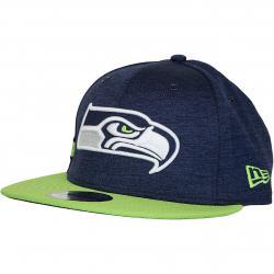 New Era 9Fifty Snapback Cap OnField Home Seattle Seahawks dunkelblau/grün