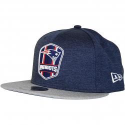New Era 9Fifty Snapback Cap OnField Road New England Patriots dunkelblau/grau