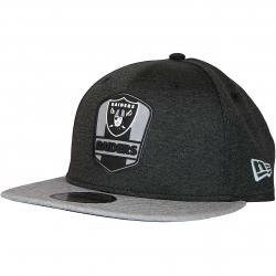 New Era 9Fifty Snapback Cap OnField Road Oakland Raiders schwarz/grau