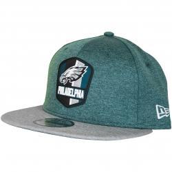 New Era 9Fifty Snapback Cap OnField Road Philadelphia Eagles grün/grau