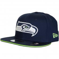 New Era 9Fifty Snapback Cap NFL Seattle Seahawks dunkelblau