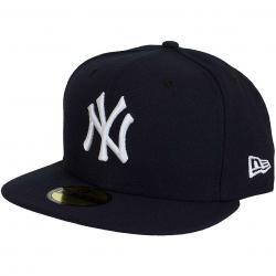 New Era 59Fifty Fitted Cap Authentic Performance Game NY Yankees Game schwarz/weiß